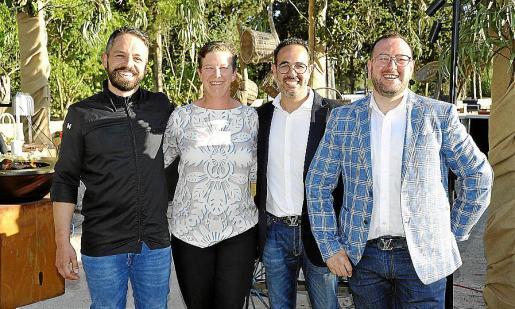 Ben Bantschow, Charlotte Miller, David Verdaguer y Joan Conejo.