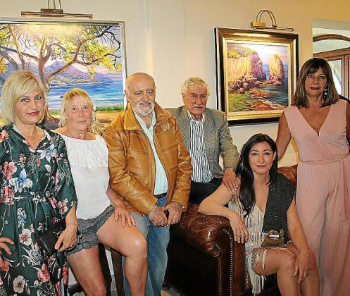Ada Martínez, Anna Lisa Eller, Miguel Reche, Joan Gibert, Mar Palou y Fiona Méndez.