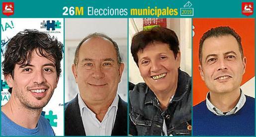 Cuatro son los partidos que se presentan a las elecciones municipales en Santanyí.