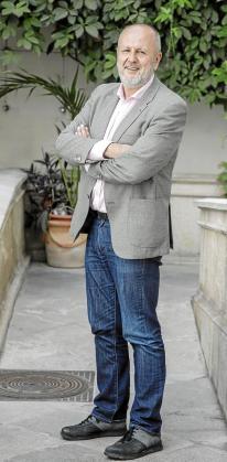 Miquel Ensenyat, candidato de Més al Parlament.         foto miquel a cañellas