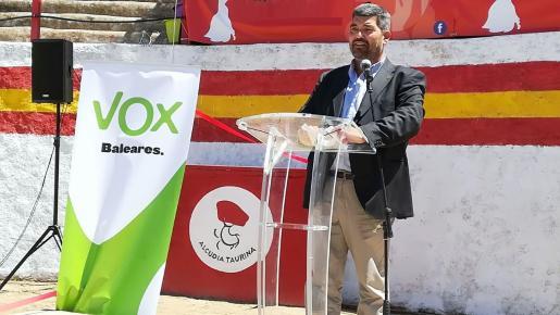 Pedro Bestard, candidato de Vox al Consell de Mallorca.
