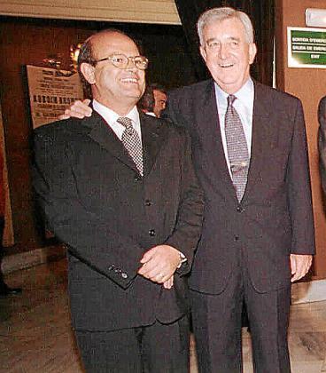 Joan Huguet y Gabriel Cañellas, en una foto de archivo.