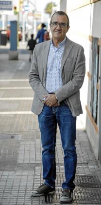 Juan Pedro Yllanes, candidato de unidas Podemos al Parlament.