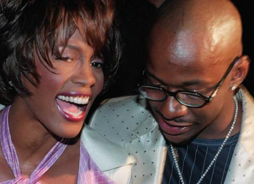 Whitney Houston junto a Bobby Brown, en una fotografía de archivo.