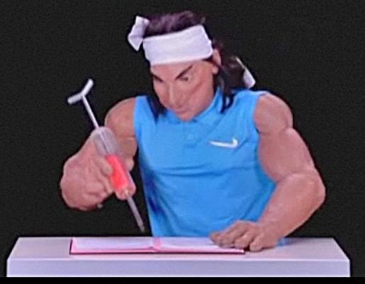 La Federación de Tenis responde con una demanda a las insinuaciones del programa francés.