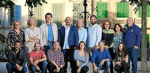 Candidatura de Unidas Podemos en Llucmajor..