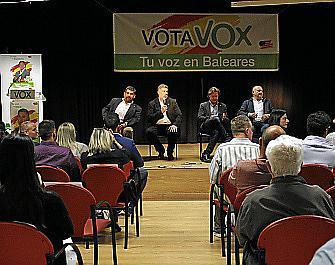 Acto de Vox en Inca.