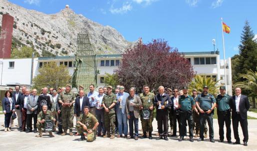 Imagen de la presentación del III Desafío FAS, en la base del Puig Major.