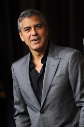 El actor estadounidense George Clooney .