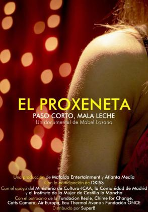 Cartel del documental 'El proxeneta'.