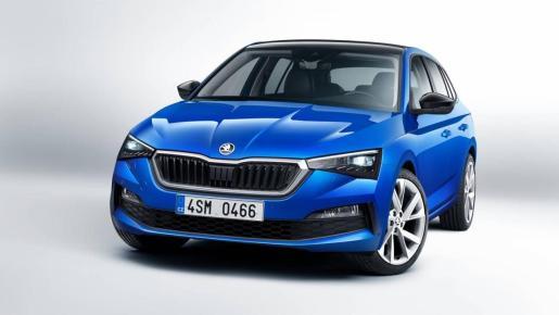 El Skoda Scala está basado en la plataforma MQB del Grupo Volkswagen.