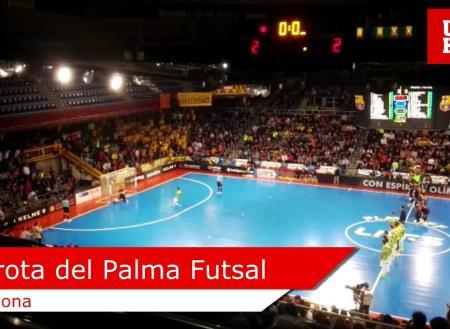 Derrota del Palma Futsal