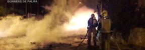 Nueva quema de contenedores en Palma