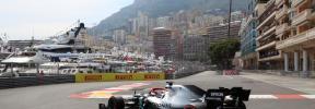 Hamilton logra la 'pole' en Mónaco