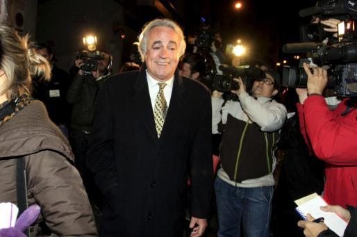 Juan Carlos Alía, a su salida de los juzgados de Palma.