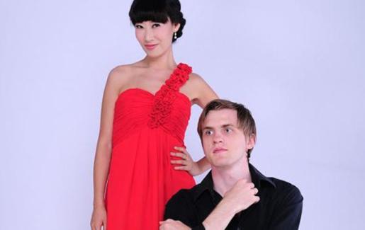 Florian Koltun (Alemania) y Xin Wang (China).