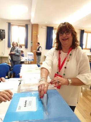 Imagen de la actual alcaldesa, Maria Antònia Mulet, que sigue como la fuerza más votada.