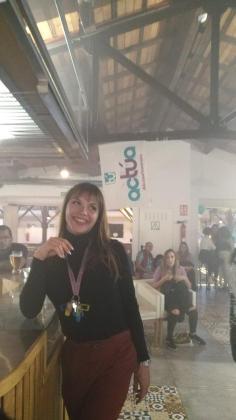 Martina Gual, candidata de Actúa al Parlament