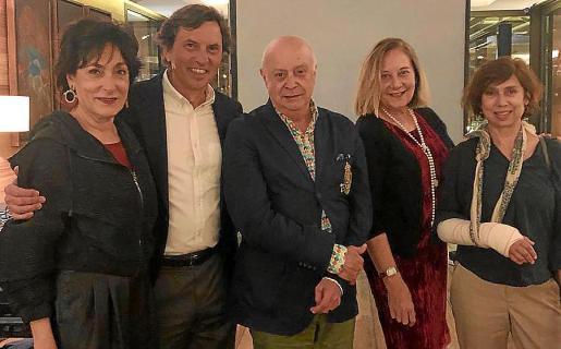 Neus Cortés, Mateo Isern, Joan Guaita, Águeda Ropero y Aina Lorente.