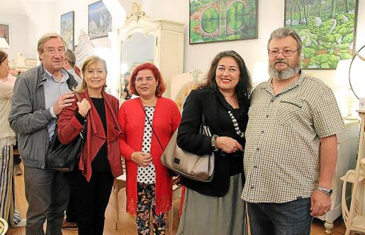Antonio Pomar, Gudi Moragues, Carmen Matarín, Mónica Motta y Sebastián Carbonell.