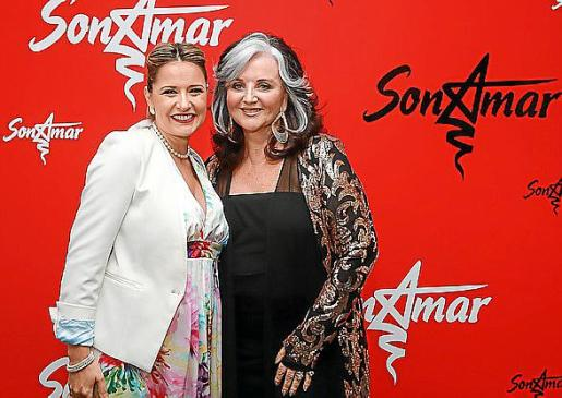 Rosa de Lima con Margaret Whittaker.