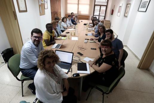 Més per Mallorca reunió este lunes por la tarde su ejecutiva en la sede de la calle Isidoro Antillón.