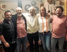 Los cinco concejales del PI de Petra