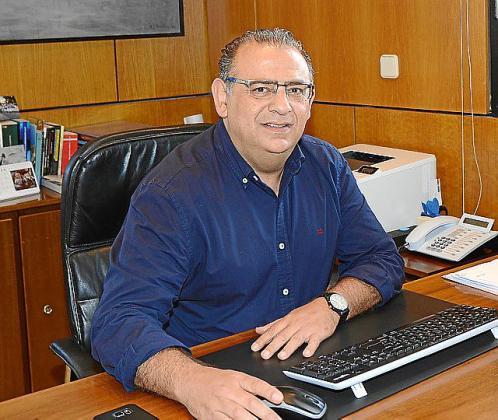 Rodríguez Badal, este lunes, en el Ajuntament.