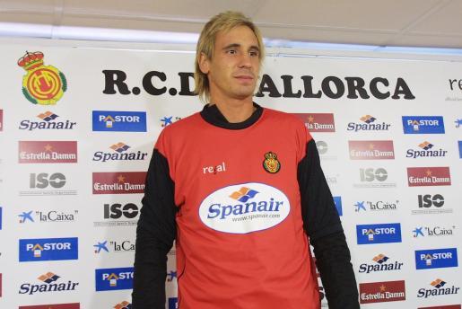 Borja Fernández fue jugador del Real Mallorca en la temporada 2005-2006.