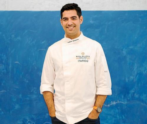 El chef Andreu Genestra.