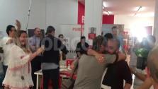 La sede del PSOE en Ibiza celebra la recuperación de la Alcaldía de Vila
