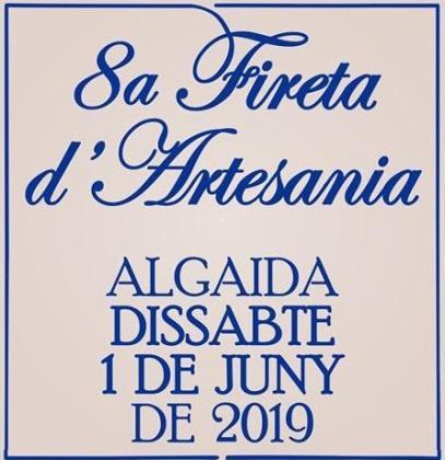 La 8a Fireta d'Artesania se celebra el sábado 1 de junio en Algaida.