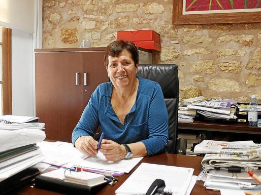 Maria Pons consiguió unos muy buenos resultados y será la primera alcaldesa del municipio.