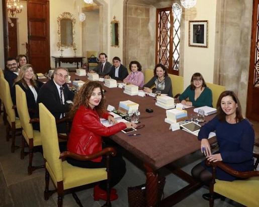 Reunión del Consell de Govern en funciones, el primero que se celebra tras las elecciones del 26M.