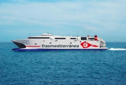 Trasmediterránea cubrirá la línea Gandía-Ibiza-Palma con el buque de alta velocidad Milenium Dos.