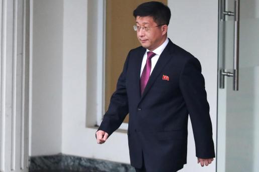 Kim Hyok Chol fue embajador en España y participó en la cumbre con Estados Unidos.