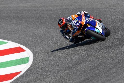 Imagen de Augusto Fernández en acción durante las sesiones oficiales del Gran Premio de Italia de Moto2.      31/05/2019 40 FERNANDEZ Augusto (Spa) Pons HP40 (Kalex), action during Moto