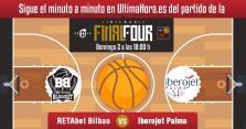 Retabet Bilbao-Iberojet Palma, en directo
