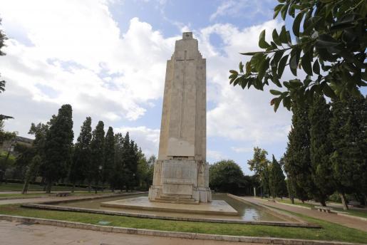 El monumento de sa Feixina de Palma.