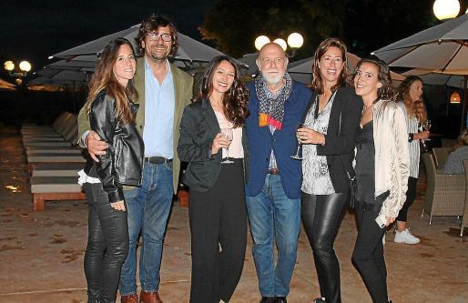 Cuca Berga, Íñigo Ochoa, Joana Antal, Paco Berga, Elsa Fornés y Elvira Molina.
