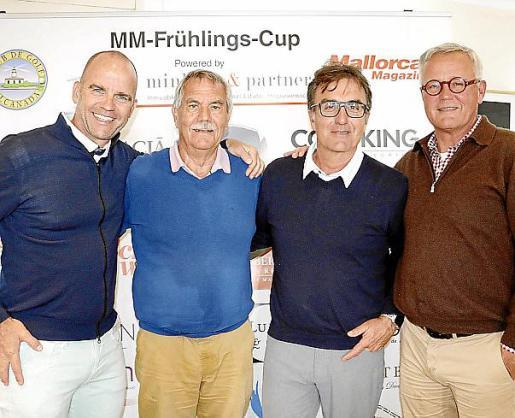 Michel Heijman, Wolfgang Braukhaus, Pep Maria Fernández y Andreas Hoffmann.