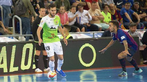 Imagen del partido disputado en el Palau Blaugrana.