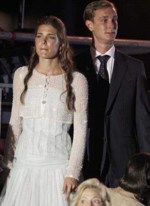 Pierre Casiraghi y su hermana Carlota Casiraghi, en una imagen de archivo.