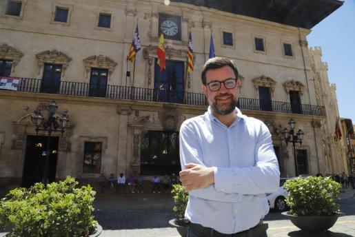 Antoni Noguera, alcalde en funciones y portavoz de Més en el Ajuntament de Palma.