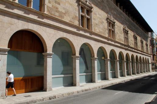 Imagen de la fachada del Arxiu del Regne de Mallorca.