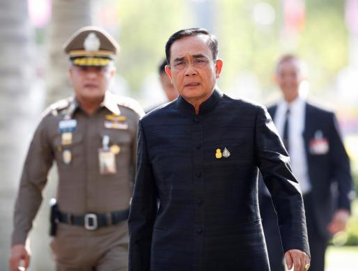 El primer ministro tailandés, Prayut Chan-o-cha.