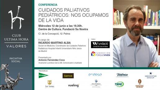 El Centre de Cultura Sa Nostra acogerá la conferencia del doctor Ricardo Martino Alba.