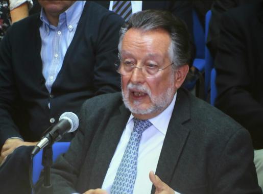 Alfonso Grau, en una imagen durante el juicio del caso Nóos en Palma.