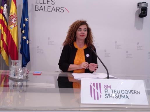 Pilar Costa es la portavoz del Govern en funciones.