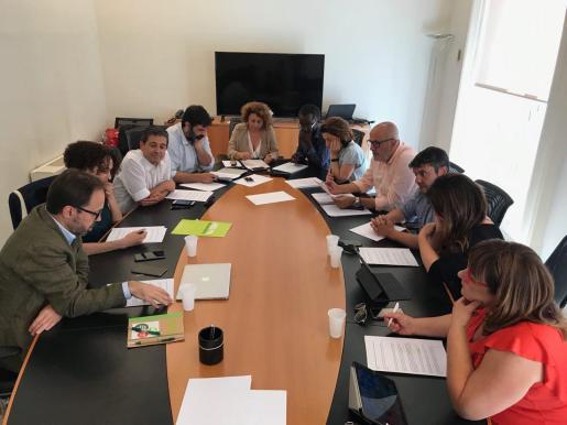 Més per Mallorca, Més per Menorca y Gent per Formentera se han reunido para plantear estrategias conjuntas en la negociación de los pactos.